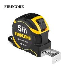 FIRECORE 5M Metric Retractable Steel Tape Measure Ruler 2M Prevent Folding Measuring Tape