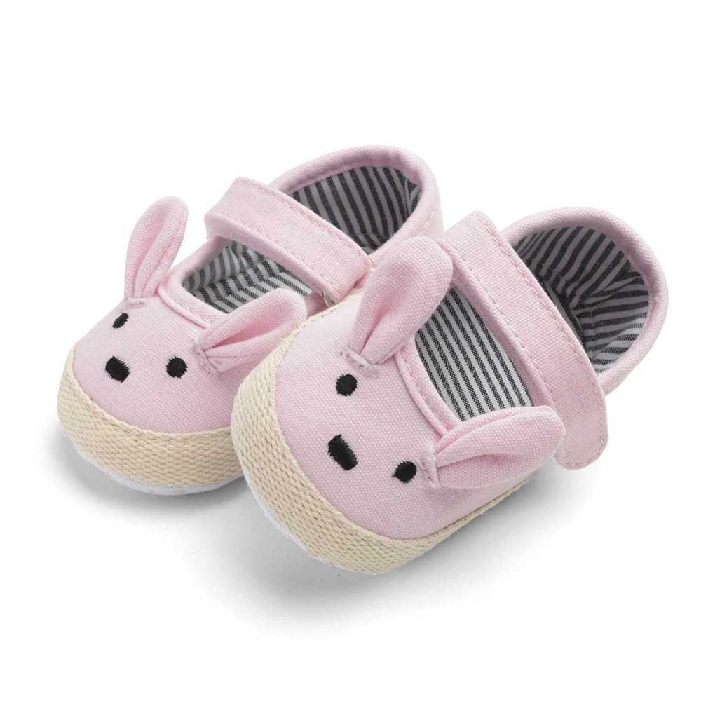 Cute Cute Little Bunny Baby Girl Shoes Soft And Comfortable Baby Shoes Baby Soft Bottom Toddler Shoes 0-1 Years Old