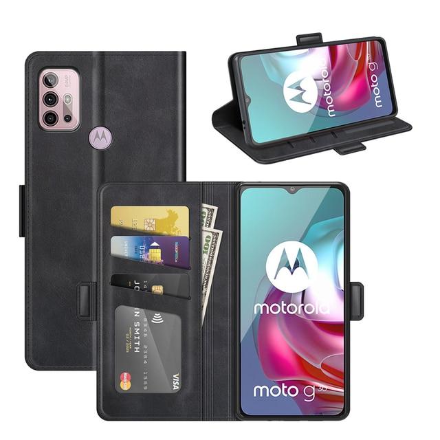جراب محفظة جلدي لهاتف MOTO G30 ، جراب هاتف مغناطيسي عتيق لهاتف MOTO G10