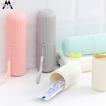 Travel Portable Couple Toothbrush Box Mouth Brushing Tooth Cup Creative Toothpaste Storage Holder Organizer
