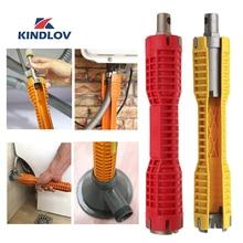 KINDLOV установщик смесителя и раковины, гаечный ключ, регулируемый гаечный ключ для водопроводных труб с двойной головкой, набор ключей, Мультитулы, 360 инструменты сантехника