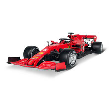 Bburago 1:18 Ferrari 2020 SF1000 F1 Racing #5 Sebastian Vettel Formula Car Static Die Cast Vehicles Collectible Model Car Toys