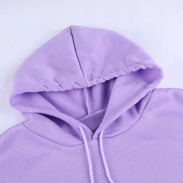 Women Hoodies Casual Planet Print Solid Loose Drawstring Sweatshirt Long Sleeve Hooded 2020 Autumn Female Pullover 5