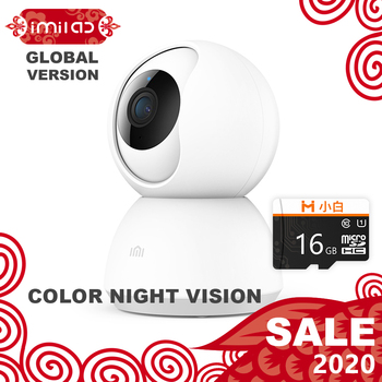 À�Global Version】Mijia IMILAB IP Camera,Xiaomi Mi Home App 013 WiFi Security Camera CCTV Baby Monitor HD 1080P Surveillance H.265