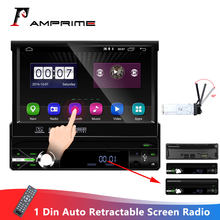 AMPrime Android 2 + 16GB wifi Auto Multimedia-player Autoradio 1 Din Auto Radio Universal Auto-Player GPS Navigation FM AM USB Radio(China)