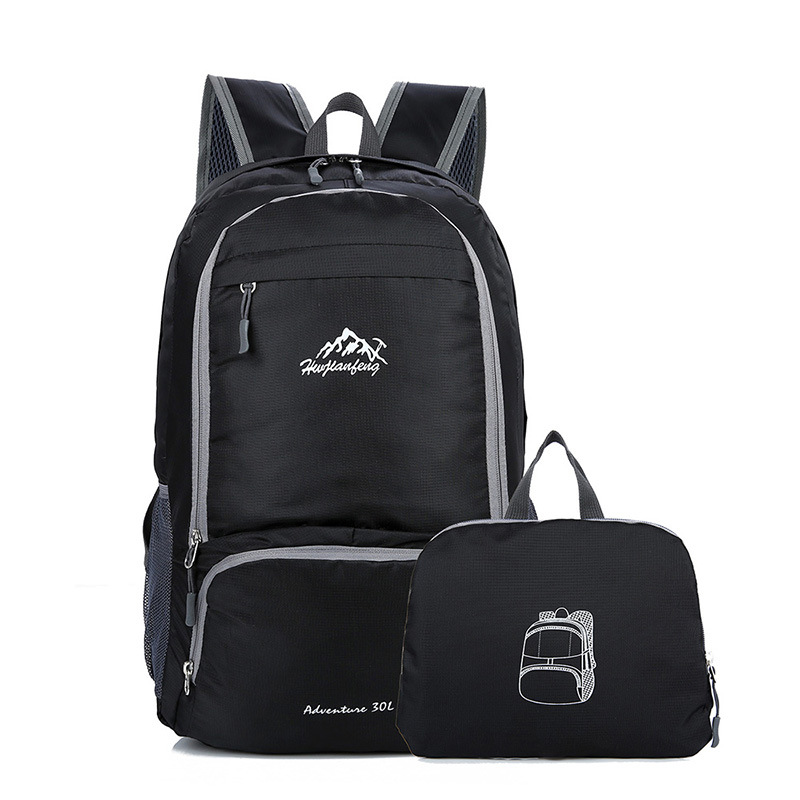 Ultra-Light Foldable Backpack Women's Waterproof Mountain Climbing Travel Outdoor Backpack Men's Sports Bag Portable Lightweight
