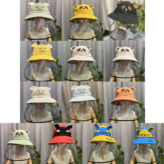 Anti-spit Child Anti-saliva Dust-proof Full Face Protective Cover Mask Visor Shield Face Mask 4