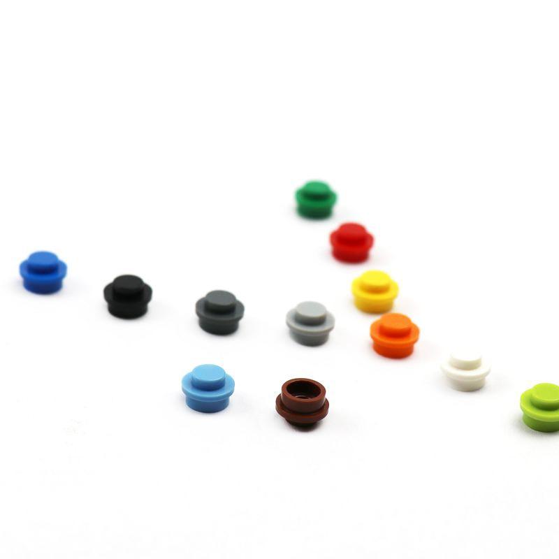 200 шт./лот MOC кирпичная пластина круглая 1x1 с твердым штифтом «сделай сам» строительные блоки кирпичи игрушки Совместимые с деталями Lego 6141 блоки|Блочные конструкторы|   | АлиЭкспресс