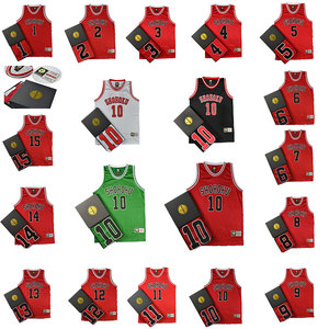 Anime SLAM DUNK Cosplay Costume Hanamichi Sakuragi Rukawa Kaede Adult Child Basketball clothes Jersey(China)