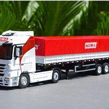Коллекционная Игрушечная модель из сплава, подарок, 1:50, масштаб, BENZ, контейнер, NOMA, забор, транспорт, грузовик, транспортные средства для украшения дисплея
