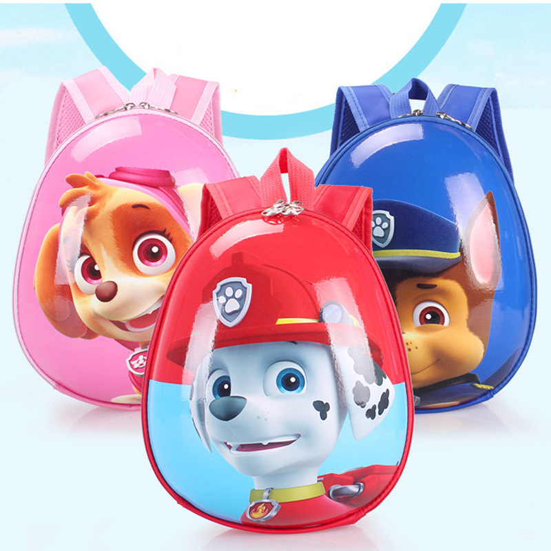 Paw Patrol Bag Cartoon Figure Skye Everest Marshall Ryder Chase Print Anime Backpack Kindergarten Children School Toy Bag