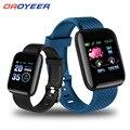 Смарт-часы Oaoyeer D13 116 Plus с пульсометром, спортивные Смарт-часы с умным ремешком, водонепроницаемые Смарт-часы для Android и IOS