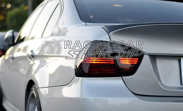 CSL Style UNPAINTED Rear Spoiler For BMW 3-Series E90 4Door 2006-2008 M057F 2