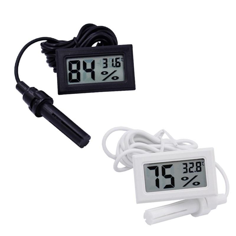 -50 ~ 70C 10% ~ 99% relatív páratartalmú LCD digitális hőmérő - Mérőműszerek - Fénykép 6