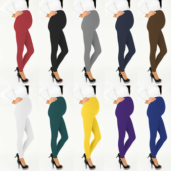 цена на Maternity Warm Trousers For Pregnant Women Pregnant Pants Pregnancy Clothes Spring Summer Maternity High Waist Trousers