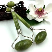 1pc Portable Double Head Facial Slim Massage Roller Jade Face Slimming Body Neck Tools Nature Sliming