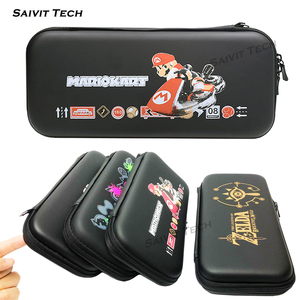 Image 2 - Nintendoswitch Accessories Case Cover EVA Storage Hard Bag Nintend Nitendo Switch TPU Soft Protective Shell for Nintendo Switch