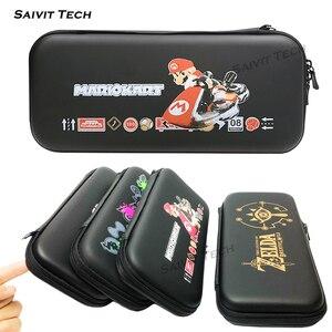 Image 2 - Nintendoswitch funda de almacenamiento EVA, bolsa dura de almacenamiento, Nintendo Switch, carcasa protectora blanda de TPU para Nintendo Switch