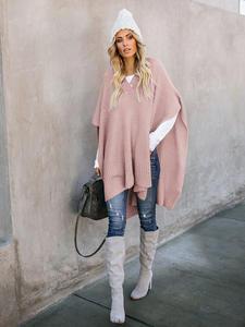 PEONFLY, женские свитера, без рукавов, свободная накидка, новый стиль, топы, Длинные пуловеры, весна 2019, женская одежда размера плюс, Вязаная Шаль