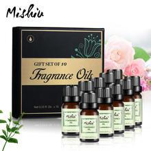 Mishiu 10ml Fragrance Oil 10Pcs Set For Humidifier Diffuser Bath Bomb Soaps Wax