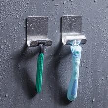 Shelf Razor-Holder Wall-Hooks-Hanger Shaving-Razor-Rack Bathroom 304-Stainless-Steel