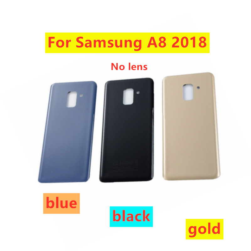 Rear Panel Battery Back Door Cover For Samsung Galaxy A8 A530 2018 A8 Plus 2018 A730 A730F Back Door Housing