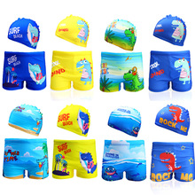Boys Swimwear Trunk Children Beachwear Summer for 2-8years 1042 Dinasaur