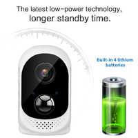 13600mAh batterie ip caméra longue durée veille sans fil batterie Wifi caméra maison extérieure étanche 1080P détection de mouvement