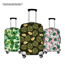 Luggage-Protective-Cover Suitcases-Covers Trolley Travel Waterproof Print TWOHEARTSGIRL