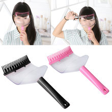 Diy Haar Pony Fringe Cut Kam Clip Draagbare Trimmer Kapsel Typen Trim Tool Tondeuse Snijmachine(China)