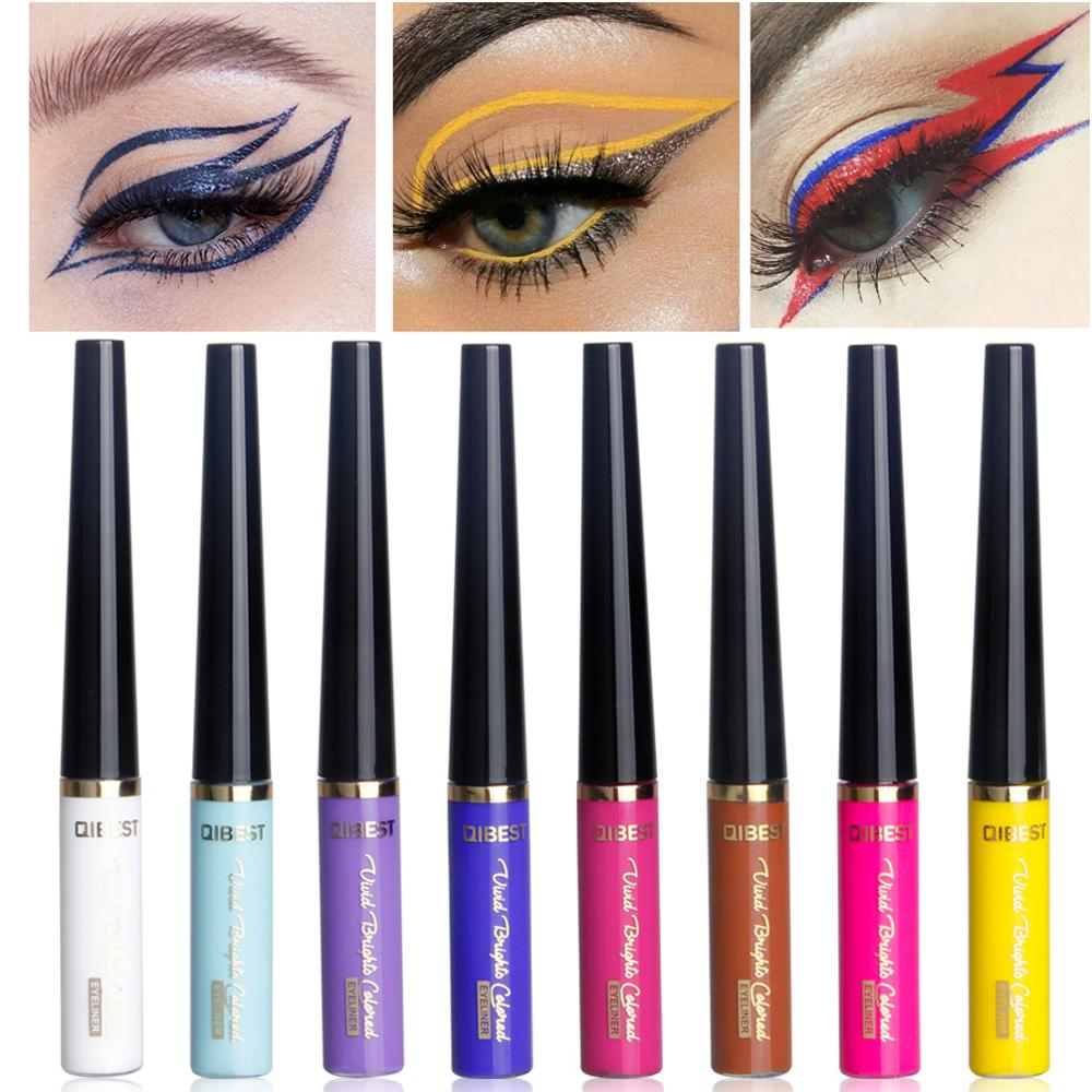 17 Colors Matte Liquid Eyeliner Bright Color Waterproof Eye Liner Pencil Long-Lasting White Eye Liner Pen Eyes Makeup Cosmetics