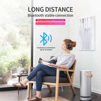 led music LED Light Wireless Bluetooth Headphones 3D Stereo Sound Earphones Headsets music Gaming Earbuds Support TF Card FM Mode Audio (5)