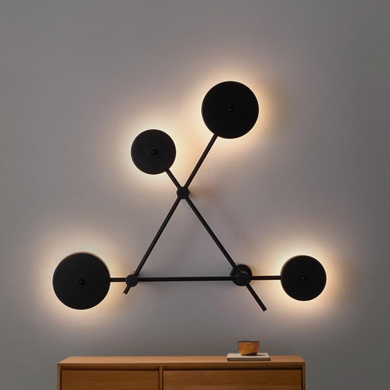 Купить современные креативные дизайнерские настенные светильники в