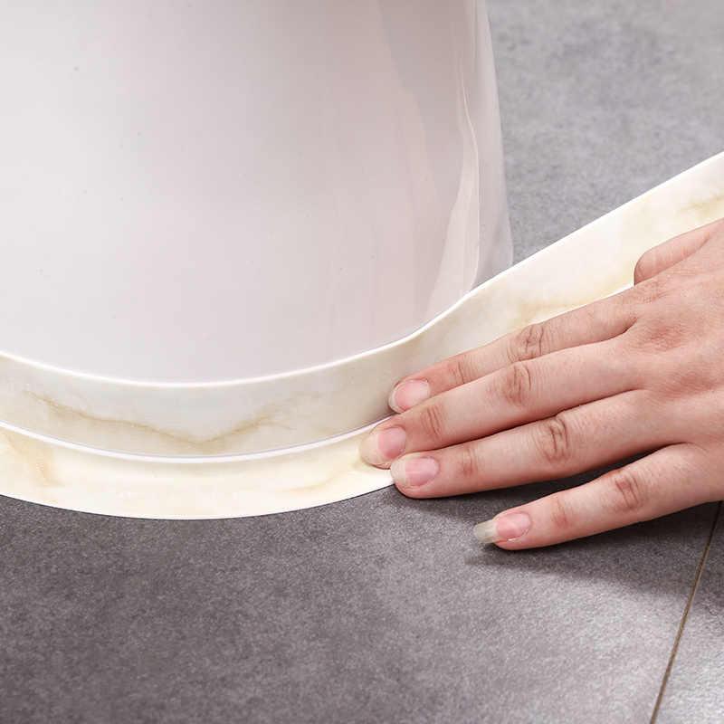 Phòng Tắm Chậu Tắm Vòi Tắm Hàn Kín Dải Băng Trắng Nhựa PVC Trong Suốt Tự Dính Chống Thấm Nước Decal Dán Tường Cho Phòng Tắm Nhà Bếp
