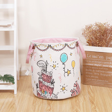 2019 New Birthday Party Cake Storage Basket Loverly Storage Bag Storage Bin Collect and Storage guidecraft book and bin storage