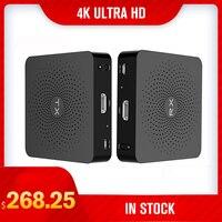 Measy W2H 4K 4K HD Wireless Video Audio Transmission TV AV Sender Transmitter Receiver Extender HIMI 30M 60GHz NEW