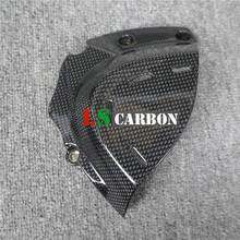 цена на For Ducati SuperSport 2017 2018 Full Carbon Fiber Motorcycle Accessories Sprocket Cover
