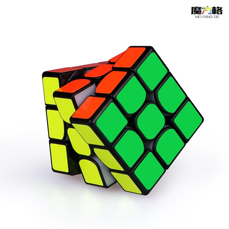 Cube-Puzzle Magic-Cube Magnets-Speed Mofangge Stickerless Qiyi Professional Thunderclap V3m