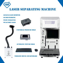 Laser Separate Machine For Iphone12 12Pro Max 11 X XR Back Glass Remover Logo Marking Engraving Frame Cutting Separator TBK-958A