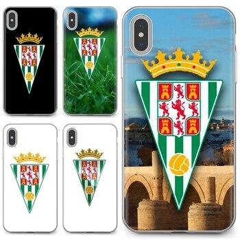 Comprar silicona funda de teléfono para Xiaomi Redmi 4A 7A S2 Nota 8 3S 3S 4 4X 5 Plus 6 7 6A Pro teléfono móvil F1 Córdoba cf logo fútbol España