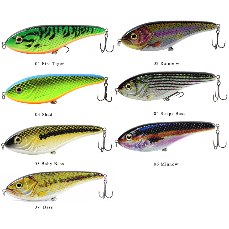 1PCS 150mm/81g Fishing Lure Jerk bait For Trout and Muskie 2