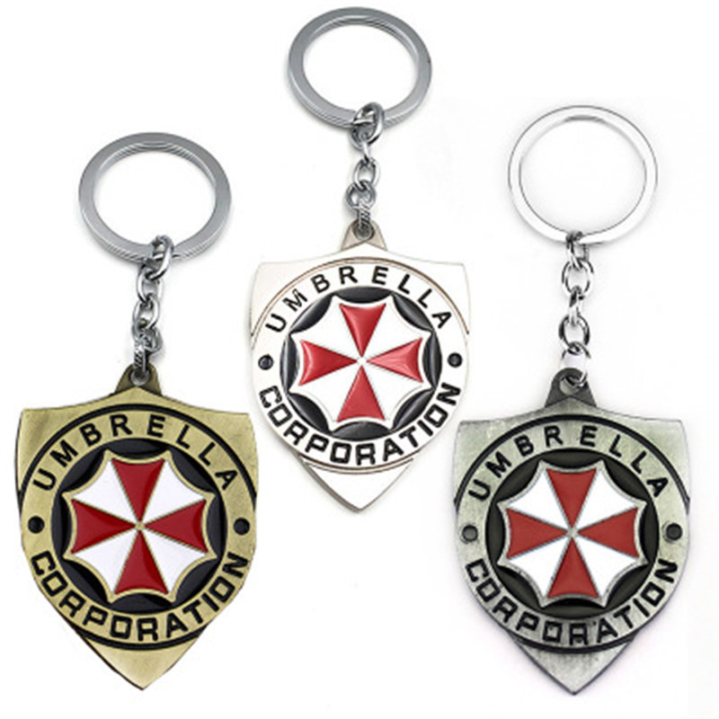 Sci-fi action and thriller movie Umbrella Corporation Keychain T126 image