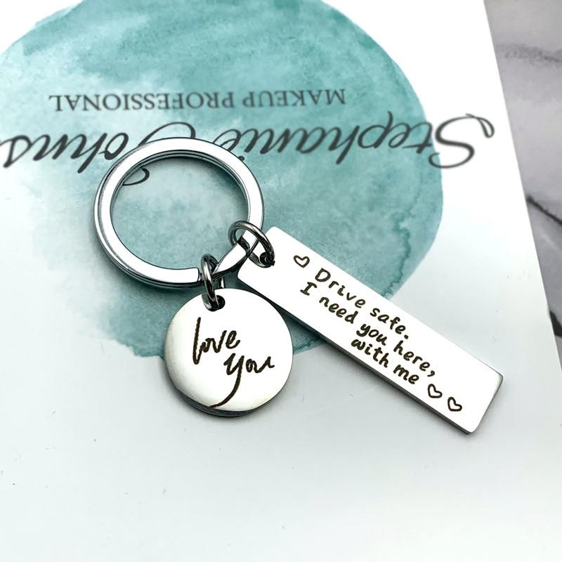 Pip Mens Creative Alloy Metal Keyfob Gift Car Keyring Keychain Key Chain Ring