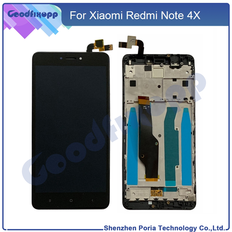 10pcs <font><b>LCD</b></font> For <font><b>Xiaomi</b></font> <font><b>Redmi</b></font> <font><b>Note</b></font> <font><b>4X</b></font> <font><b>LCD</b></font> <font><b>Display</b></font> + Touch Screen Digitizer Assembly With Frame For <font><b>Redmi</b></font> <font><b>Note</b></font> <font><b>4X</b></font> <font><b>Lcd</b></font> Phone Parts image