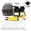60 Вт AC 220 В цифровой дисплей паяльники для горения по дереву инструменты для поделок набор для пирографии ручки с адаптером для пайки ЕС
