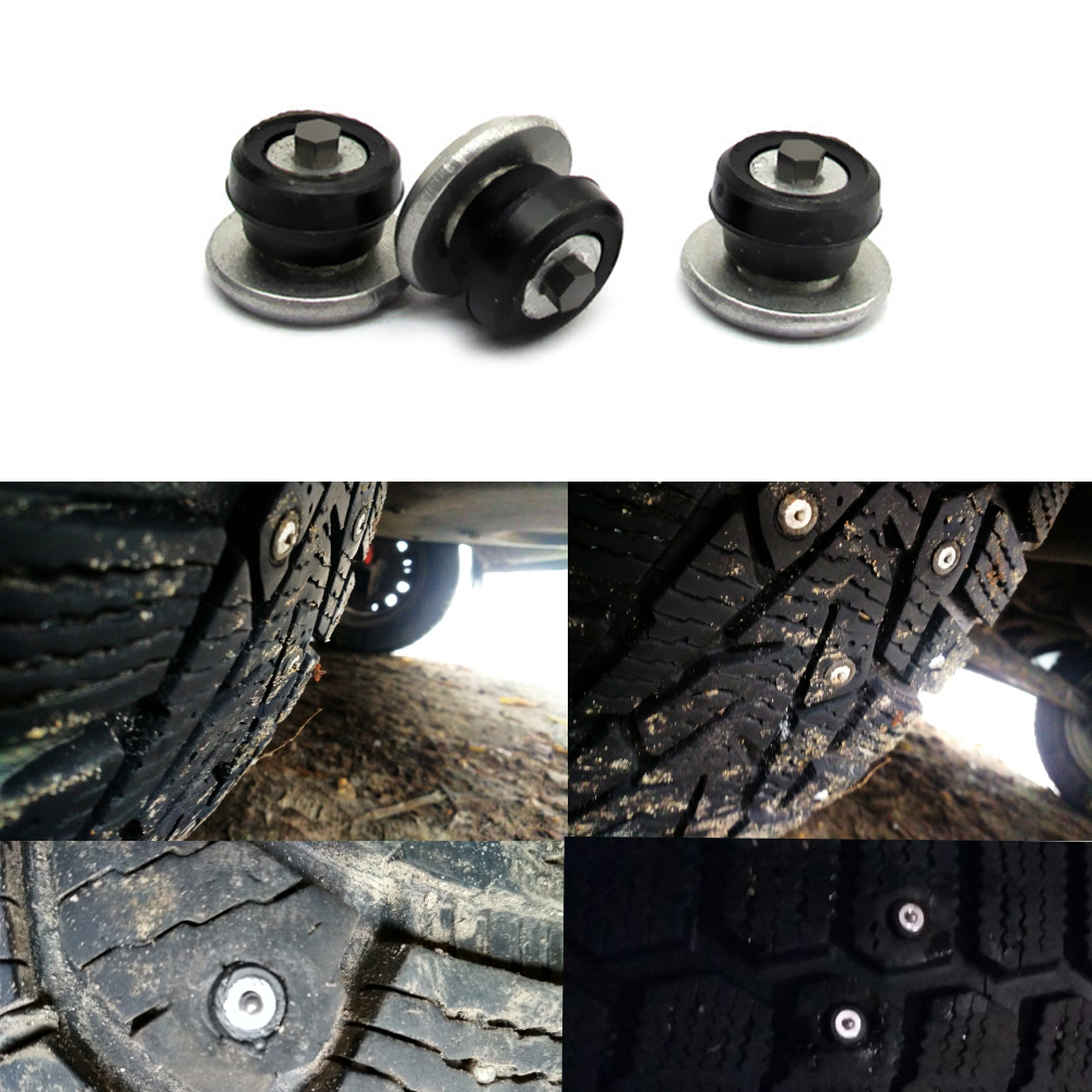 New Winter Tire 9mm Spikes Car Tires Studs Screw Snow Spikes Wheel Tyre Snow Chains Studs For Auto Motorcycle SUV ATV Truck