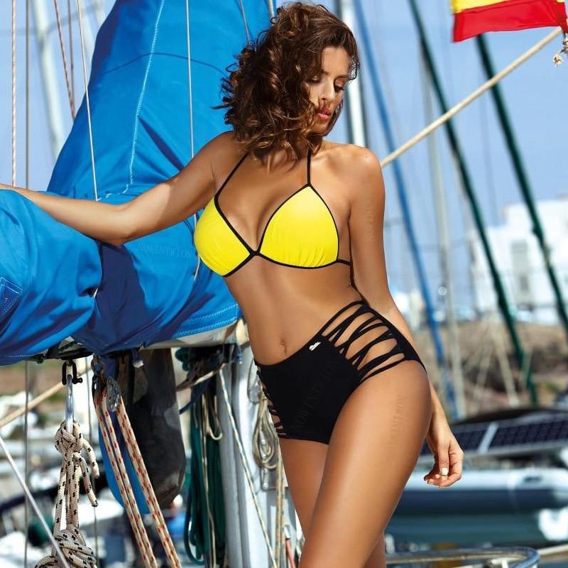 H534738a19217488fa8841780c2073086i 2019 Sexy Bikini Set Three Piece Swimsuit Women Push Up Swimwear Brazilian Bathing Suit Beachwear Swimming Suit For Women Bikini