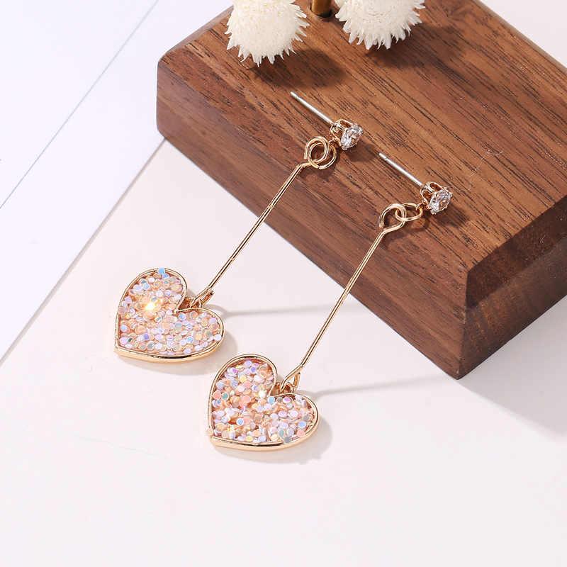 2020 nova gota balançar brincos brilho estilo estrelas novo design strass cristal brincos para festa de casamento feminino presente