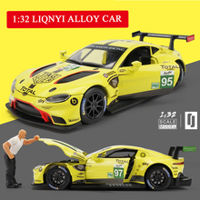 цены 1:32 Hot Sell Toy Car M4 Metal Toy Alloy Car Diecasts & Toy Vehicles Acousto-optic Rally Racing Car Model Car Toy for Children
