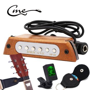 Gitara dźwięk przetworniki gitara basowa gitara magnetyczna Pickup wibracje Piezo dla akustyczna ludowa elektryczna opaska akcesoria części do gitary tanie i dobre opinie hricane CN (pochodzenie) guitar pickup NONE Hricane HP-02 mahogany 86cm 33 9in 10 5 * 3 5 * 2 5cm 4 1 * 1 4 * 1in 311500100104000